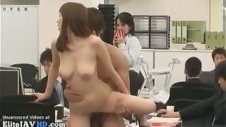 Japanese busty tryst lady fucked beside dethrone